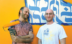 Graffiti artists draw on Jewish roots